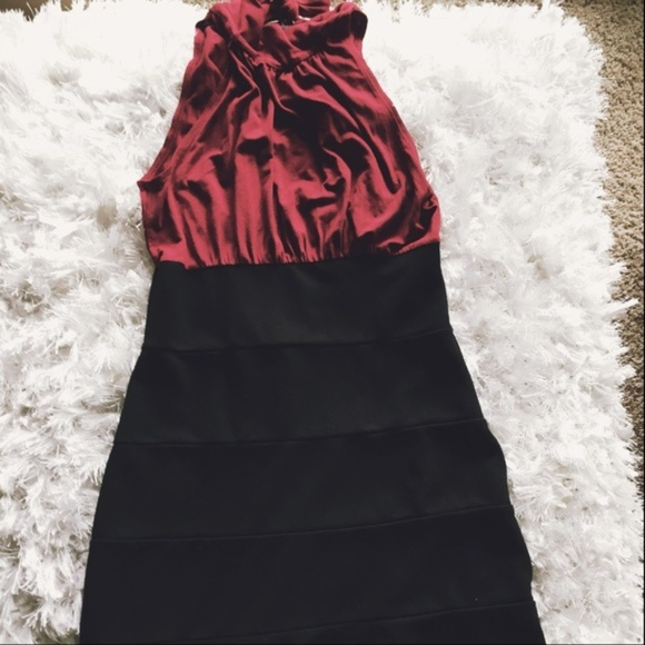 Red and Black Dresses for Juniors